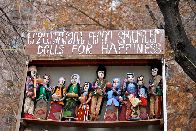 Dolls for happiness