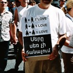 Gay-pride in Marseille, France (June, 2004)