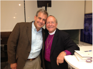 Bishop Gene Robinson at the Human Rights Campaign Headquarters in DC. he was discussing his book God Believes in Love Straight Talk About Gay Marriage.